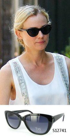 Hoy, unas gafas de #BeNatural junto a la actriz #DianeKruger.