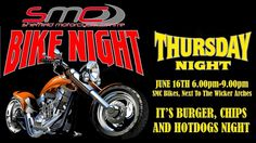 Join us tomorrow night at SMC Bikes for our monthly Bike Night :)