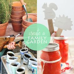 8 ideas for gardening with kids from Babble.com