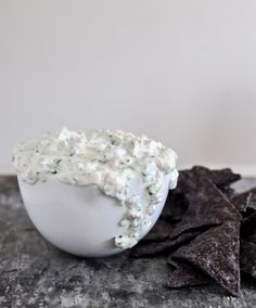 Need a new party dip recipe? Try this spinach and kale Greek yogurt dip