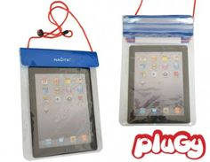 Thinking about taking your tablet to the beach?Safe & easy reading session at the beach, the Waterproof Pocket will protect your tablet and let you use it while it's inside.Waterproof Tablet Pocket. Find it on PlugyPromotion.com