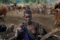 Portraits   Steve McCurry - Omo Valley, Ethiopia