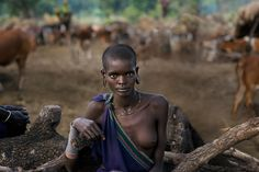 Portraits | Steve McCurry - Omo Valley, Ethiopia