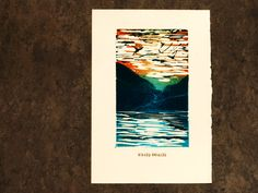 This is an original, hand-pressed, linocut print on a book page, showing a seascape. I have hand-carved this stamp on a linoleum sheet and then handprinted paper, using Cranfields Caligo Safe-wash Relief Inks. The print comes unframed and unmatted. Linocut Prints, Art Prints, Book Pages, Hand Carved, I Shop, Carving, Stamp, Etsy Shop, The Originals