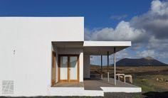 Vivienda unifamiliar aislada en Tinajo, Lanzarote. Marzo 2016.