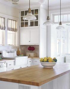 Encimeras de madera para la cocina   Decorar tu casa es facilisimo.com