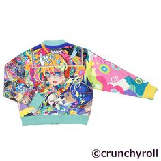 picture of Crunchyroll x galaxxxy Presents Hypersonic Music Club Blouson Jacket 3