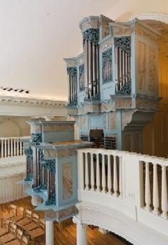 Krigbaum Organ, Marquand Chapel, Yale.  Taylor & Boody, Builders.