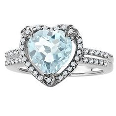 March Birthstone Checkerboard Aquamarine Heart Silver Ring Available Exclusively at Gemologica.com Valentine's Day 2017 #Jewelry #Gift #Ideas for #Him #Her Kids. #Gemologica has simple, unique #gifts for boyfriend, girlfriend, couples including #rings #earrings #bracelets #necklaces #pendants #Jewellery #couponcode #deals #sale #Presents for #girlfriends #boyfriends #kids #men #women #Gold #Silver #Fashion #Style