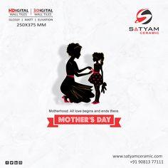 Happy Mother's Day  Satyam Ceramic Digital Wall Tiles:- 250x375 MM  #satyamceramic #Satyamtiles #digitalwalltiles #walltiles #tiles #ceramic #kitchen #bathroom #bedroom #livingroom #10x15 #250x375 #ceramicindia #tilesmanufacturers #Morbi #gujarat #india Digital Wall, Love Is All, Happy Mothers Day, Wall Tiles, India, Ceramics, Bathroom, Kitchen, Room Tiles