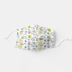 Kid's face mask - tap/click to get yours right now! #afflink #kids #face #mask #masks Summer Patterns, Cool Patterns, Summer Kids, Summer Beach, Summer Prints, Tropical Pattern, Cute Doodles, Shape Of You, Cute Faces