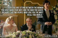 Sherlock on love