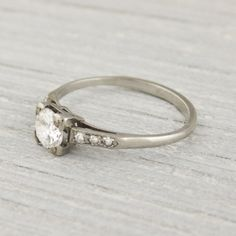 .55 Carat Vintage Diamond Engagement Ring | Erstwhile Jewelry Co.