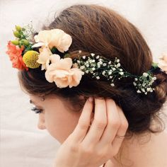 DIY Floral Headpiece