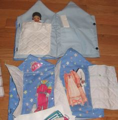 Felt Paper Doll Set with Sweet African American Doll House and Clothes Quiet Church Toy Last Set Little Girl Fashion Designer