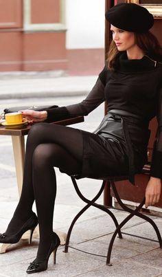 Paris+Leather = The Ultimate $$ Class, devine.......