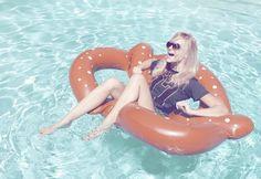 Pretzel floatie