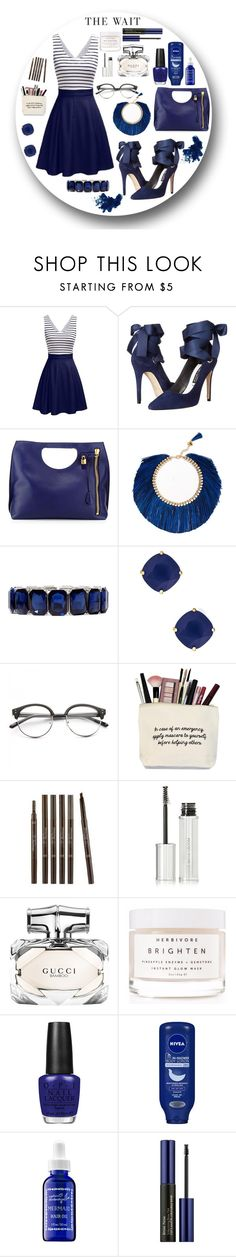 """untitled 6.1"" by goodvibes00 on Polyvore featuring Alice + Olivia, Rosantica, Monet, Kate Spade, Concord, Etude House, Givenchy, Gucci, Herbivore and OPI"