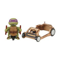 Teenage Mutant Ninja Turtles T-Sprints Dasher Don with Patrol Buggy $5.99  #Sale