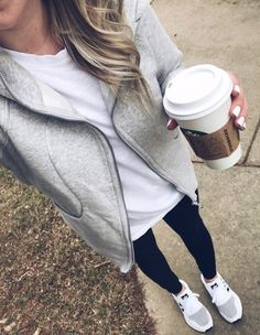 Best Athleisure Outfits Part 10 Legging Outfits, Leggings Outfit Fall, Athleisure Outfits, Sporty Outfits, Mode Outfits, Athletic Outfits, Outfits For Teens, Athletic Clothes, Outfits 2016