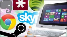 Must-Have Software for a New Windows PC. Whether you get a Windows 8 or 8.1 PC heres what you should install on your new PC immediately to get the best experience.