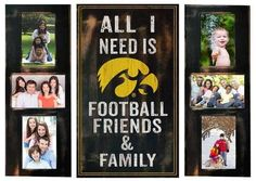 University of Iowa Hawkeyes Picture Frame Set All I Need 3pc Frame