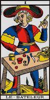 Cartas do Destino: Tarô de Marselha – O Mago (Competência)