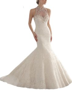 Weddinglee Bride Dress Wedding White Wedding Dresses for Bride 2017 Vintage Lace Dresses Bride Wedding 2017 Mermaid Beaded Sweetheart. High quality fabic, Built in Bra and Fully-lined. Delivery Time: Total delivery time is Tailoring time(ususlly 7-10 business days) Plus Shipping time(usually 3-5 business days).But Total Delivery Time can be shortened to 10-15 days if you are in urgent need of the dresses. Size: For accurate measurements of Bust,Waist,Hips, Hollow to Floor, Please refer to...