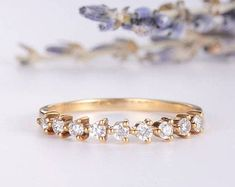 HANDMADE RINGS & BRIDAL SETS by MoissaniteRings on Etsy Bridal Ring Sets, Handmade Rings, Gold Rings, Trending Outfits, Unique Jewelry, Rose Gold, Engagement Rings, Diamond, Gifts