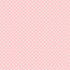 Vaaleanpunainen pilkkutapetti