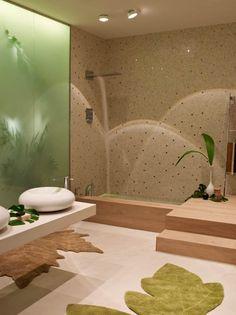 Neonaturaleza de Ramon Soler, un Ambiente Único para el Baño