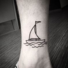 Résultats de recherche d'images pour «tattoo boat and anchor foot»