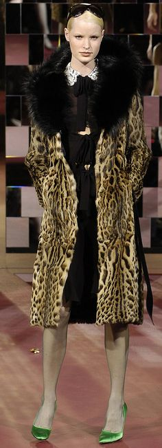 Dolce & Gabbana. I would rock the hell outta this coat!