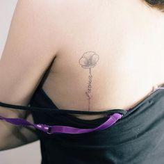 8개월 정도 된 양귀비와 레터링 . 이니셜 추가 . #tattoo#tattooist#tattooistsol#솔타투#lettering#soltattoo#color#colortattoo#꽃타투#flowertattoo#flower#꽃 #타투#솔타투#타투이스트솔