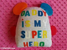 ♡ Plushie ♡   Created a memento that is Filled with Love and memories from our little one's outgrown clothes