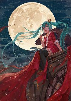 Vocaloid Christmas Miku Hatsune
