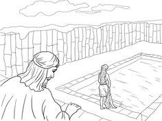 mephibosheth coloring pages   David Helps Mephibosheth ...