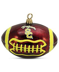 Joy to the World USC Football Sports Ornament