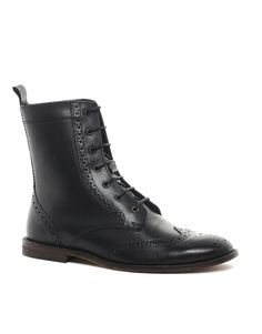 58db5f7452b ASOS Brogue Boots With Leather Sole Sneakers For Sale