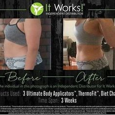 Check out these jaw dropping results !! Wraps, thermofit, and a cleaner diet after just 3 weeks!! WHAT WHAT!! AMAZING!!  Are you ready to try this?!? #bestproductsever #summerready