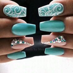 |Lilshawtybad|✨||To see more follow @Kiki&Slim Nail Design, Nail Art, Nail Salon, Irvine, Newport Beach