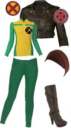 Diy x men rogue costume costume pinterest rogue costume rogue x men solutioingenieria Image collections