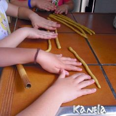 GAÑOTES ~ Kanelamonje Recetas de Cocina