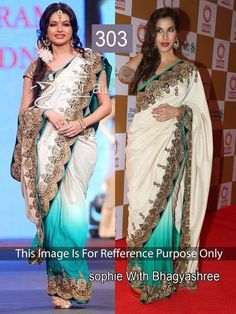 Ethnic Indian Pakistani Designer Saree Latest Bollywood Party Wear Bridal Sari  #Saawariya #Designer