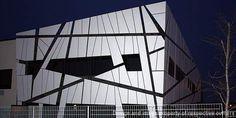 Modula headquarters, Corridonia (Macerata), Italy, project by Mario Montalboddi