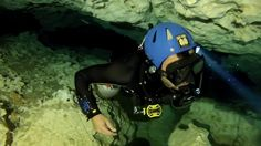 """Bones"" Sidemount Cave Diving at The Pit"