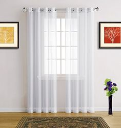 Pin By Koves Tunde On Fuggony Curtains Living Room White Large Curtains
