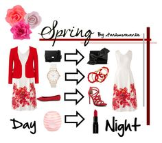 """Spring Day to Night"" by xfandomsneverdie ❤ liked on Polyvore featuring Accessorize, Lands' End, Etienne Deroeux, Breckelle's, Aspinal of London, Qupid, NEST Jewelry, Victoria Beckham, Smashbox and River Island"