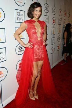 Bellyitch: 2014 Grammy Red Carpet, On Stage & Behind-the-Scenes (PHOTOS) - Paula Patton at the Clive Davis pre-Grammy party