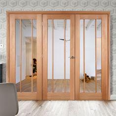 Easi-Frame Oak Door Set, GOWOR-COEOP30, 2005mm Height, 2594mm Wide. #oakdoor #internaloakdoor #xjoinerydoor